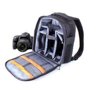 SAC PHOTO Sac à dos noir de rangement pour Sony A7, NEX-5RK
