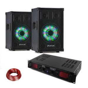PACK SONO Fenton TL8LED Pack sono pro Enceintes passives 3 v