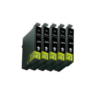 PACK CARTOUCHES LCL(TM) Compatible 16XL T1631 (5-Pack,Noir) Cartou