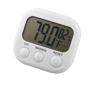 THERMOMÈTRE - BAROMÈTRE TRIXES Thermomètre digital LCD, fonction hygromètr