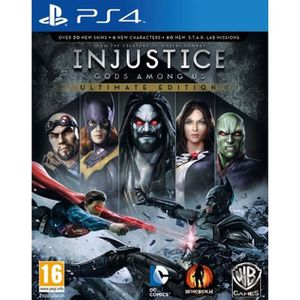 JEU PS4 Injustice: Gods Among Us Ultimate Edition  (Playst