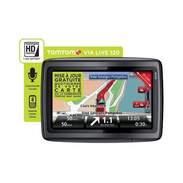 GPS TomTom Via Live 120 Europe