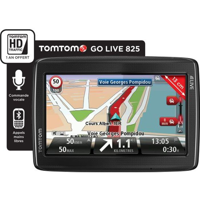 gps tomtom go live 825 europe achat vente gps auto tomtom go live 825 europe 45 soldes d
