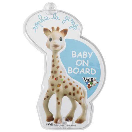 SOPHIE LA GIRAFE Flash Baby on Board