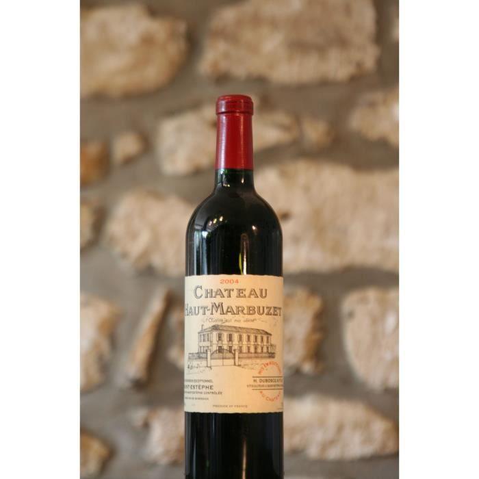 Vin rouge, Château Haut Marbuzet 2004 Rouge