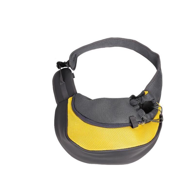 Sacs de transport pour petits chiens chats, sac à bandoulière avant latéral pour chiens, sac à dos de transport [C2F01FC]