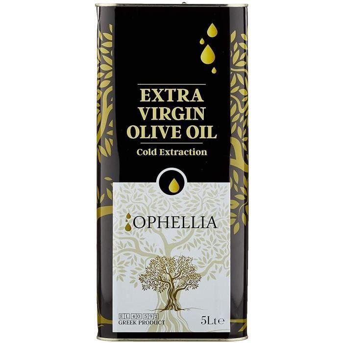 Francepicerie - Ophellia 2019 Huile d'Olive Extra Vierge Crétoise 5 Litres