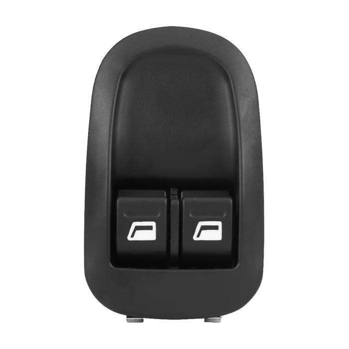 ZJCHAO interrupteur de lève-vitre avant électrique Interrupteur de commande de vitre avant électrique pour Peugeot 206 98-10
