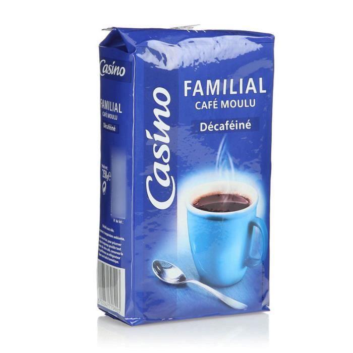 Café moulu Familial Décaféiné - 250 g