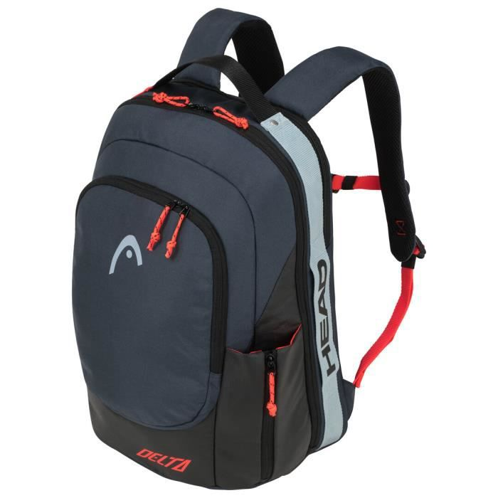 Sac à dos Head Delta Backpack Padel Black Orange - Couleur:Orange Type Thermobag:Sac à dos