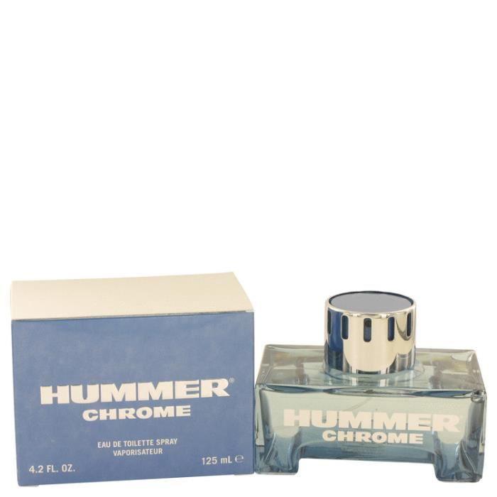 Hummer Chrome 125 ml - Eau De Toilette Vaporisateur Homme