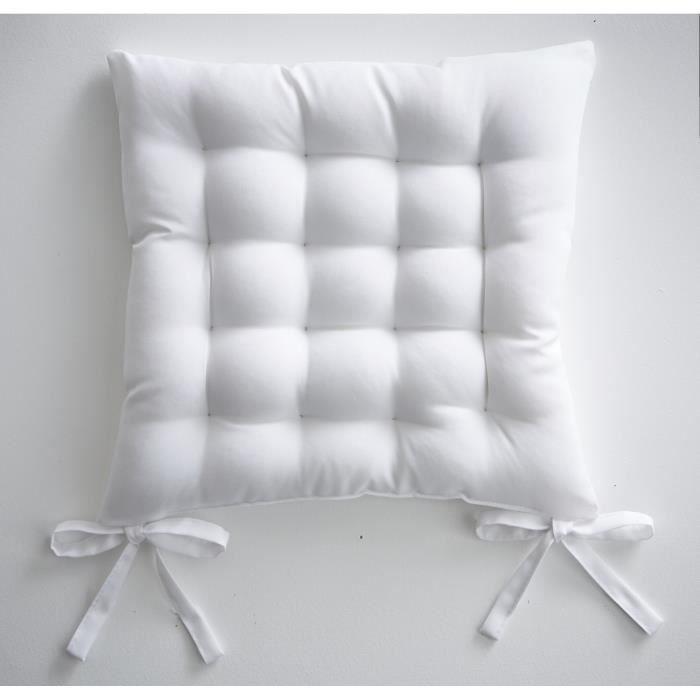 Galette de chaise 40x40 cm matelassé Chantilly