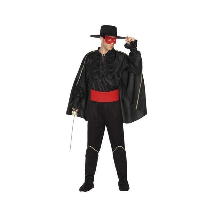 ATOSA Déguisement Bandit Masqué - Panoplie Adulte