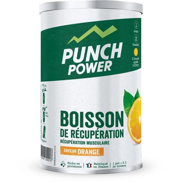 PUNCH POWER Boisson de récupération Orange - Pot 400 g