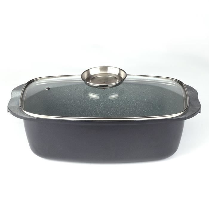 Casserole de cuisson avec couvercle en verre Royalty Line 32 cm