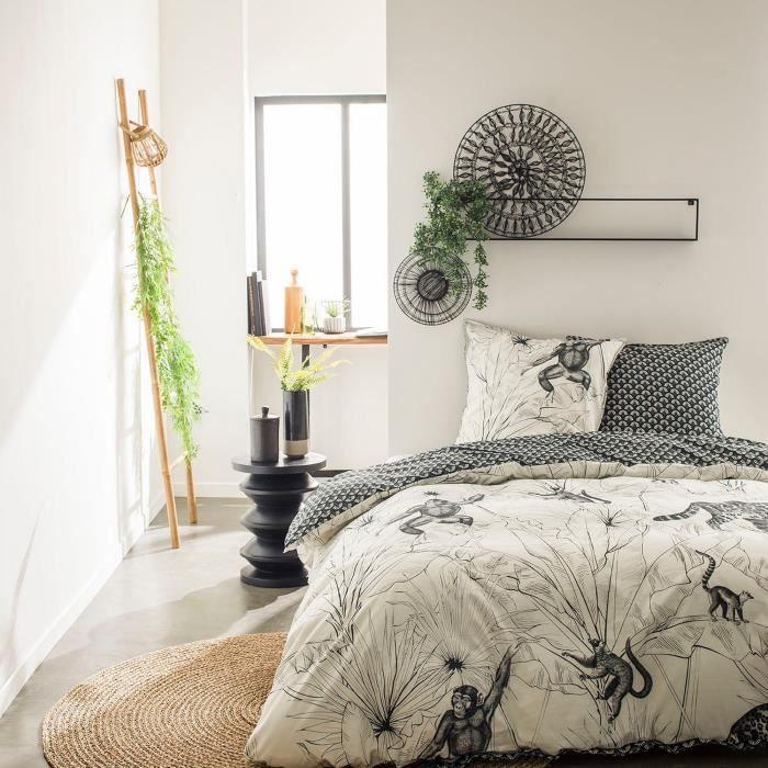 Housse de couette et taie d'oreiller Today 100% Coton 57 fils 4.49 - taille:240 x 260 cm
