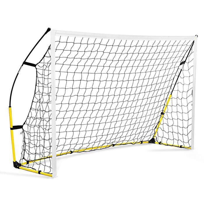 VGE® Filet d'entraînement de football Filet de football Amovible pliant mini de but de pour enfants 1.8*1.2m Excellent