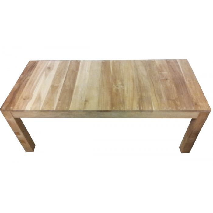 Table basse teck massif naturel achat vente table basse table basse teck - Table basse bois teck ...