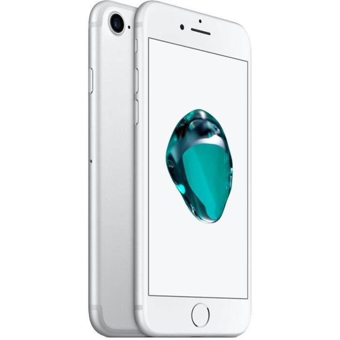 SMARTPHONE APPLE IPhone 7 128Go Argent Reconditionné - Comme