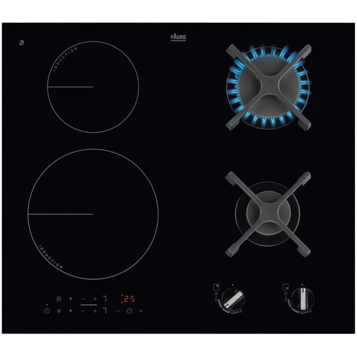 OCEANIC CTM3G1EB Table de cuisson mixte