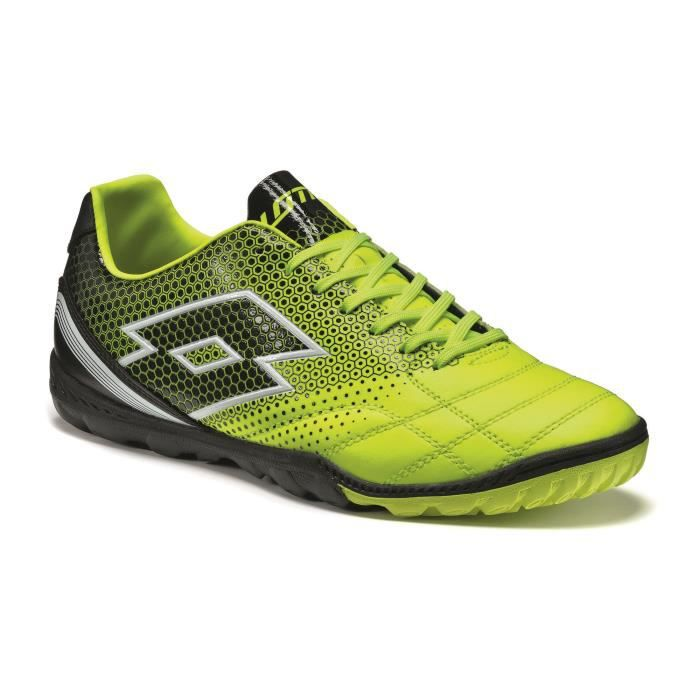 ... chaussures football lotto spider 700 xiii tf jaune