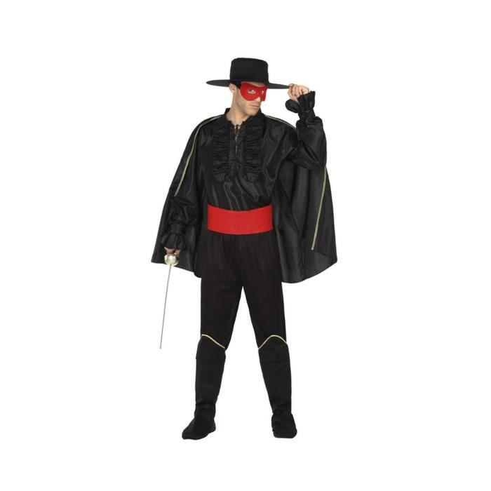 Homme Femme Bandit de grand chemin Masquerade Ball Pirate Carnaval Déguisement Masque /& Chapeau