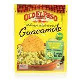 SAUCE EXOTIQUE - PIMENT OLD EL PASO Mélange d'épices pour Guacamole - 20g