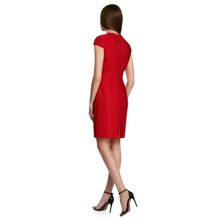 Womens Slim-fit V-neck Dress 2G3T6F Taille-32
