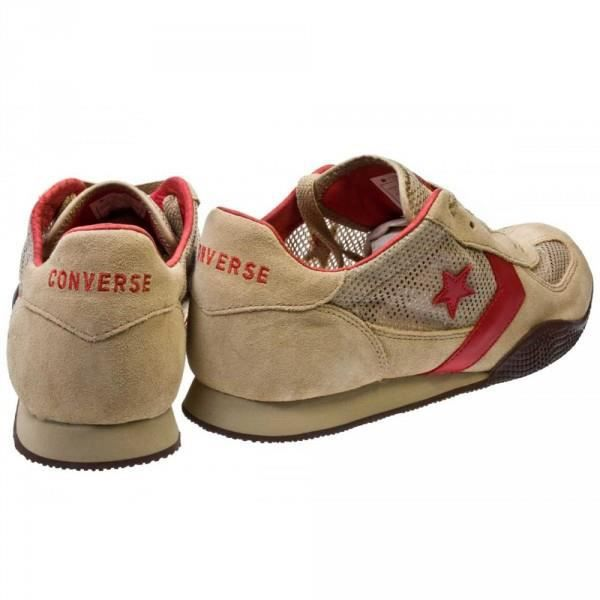 Converse Shoes Targa OX Khaki / Red / Choc coach Skateboard Shoes Sneaker Sneakers [38] D97vr3EyKd
