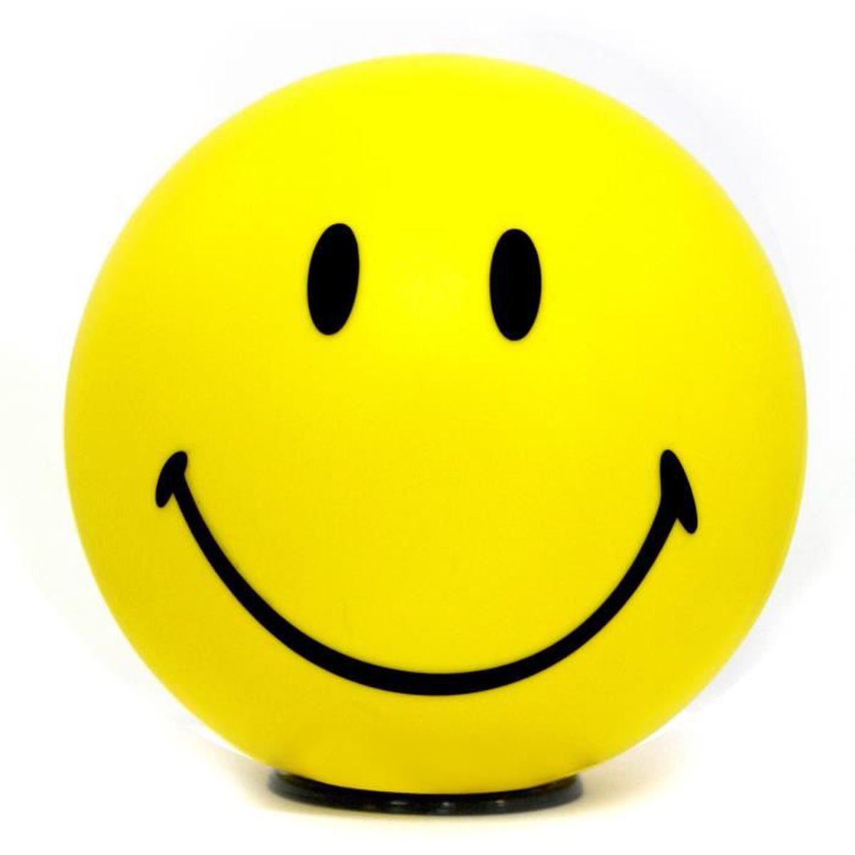 Lampe déco Smiley Happy - Emoticônes content - Jaune - Achat ...