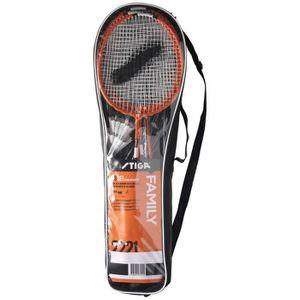 KIT BADMINTON STIGA Set de badminton Family Fs - Rouge et noir