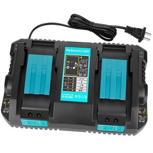 BATTERIE MACHINE OUTIL 2019 Pour Makita double charge chargeur de batteri