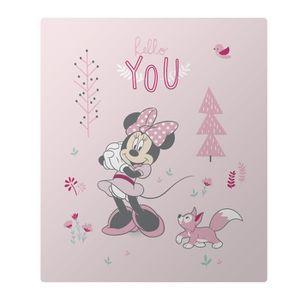 COUVERTURE - PLAID Plaid polaire Disney Minnie - Taille: 110x140 cm -