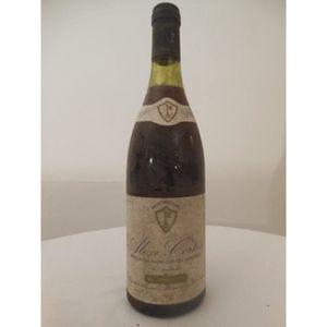 VIN ROUGE aloxe-corton mommessin rouge 1982 - bourgogne fran
