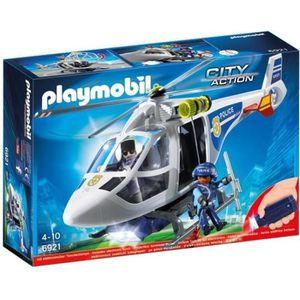 UNIVERS MINIATURE PLAYMOBIL 6921 - City Action - Hélicoptère de Poli