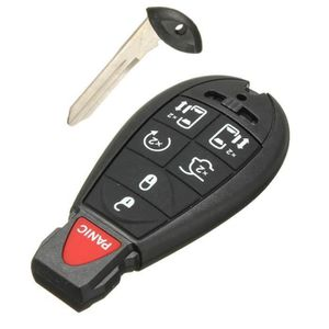 5 touches télécommande Chrysler Ch4pa pliante Clé Boîtier Conversion pour original