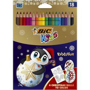 CRAYON DE COULEUR BIC Kids Evolution Crayons de Couleur Edition Limi