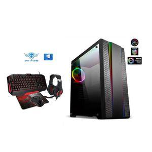 UNITÉ CENTRALE  Pc Gamer CLONE TWO AMD Ryzen 3 1300X  - nVIDIA GT1