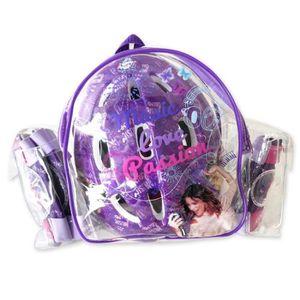 KIT PROTECTION Set de protections Violetta : Casque + Coudières +