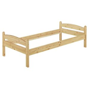 STRUCTURE DE LIT 60.32-09oR lit solide en pin massif naturel, lit e