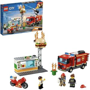 ASSEMBLAGE CONSTRUCTION LEGO® City 60214 L'intervention des pompiers au re