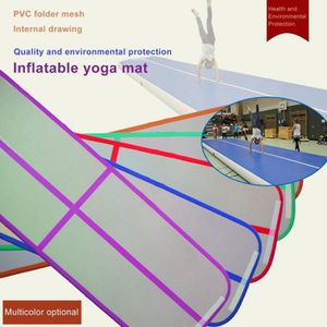 TAPIS DE SOL FITNESS Piste Air Track Tapis Gonflable Gymnastique-Piste