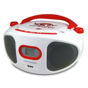 RADIO CD CASSETTE MET 477121 Radio CD MP3 Pirate