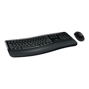 CLAVIER D'ORDINATEUR Microsoft Wireless Comfort Desktop 5050 Ensemble c