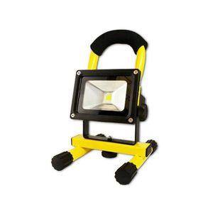 PROJECTEUR EXTÉRIEUR Spot halogène rechargeable 10 watts LED Arcas (Jau