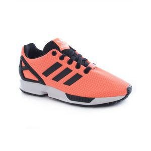 BASKET Basket Adidas ZX FLUX K Orange Noir