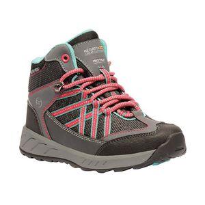 Regatta garçons SAMARIS Mi Chaussures de marche-sport rouge à l/'extérieur imperméable