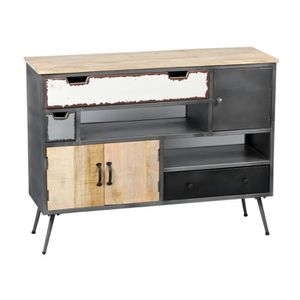 meuble d entree industriel achat vente meuble d entree industriel pas cher soldes d s le. Black Bedroom Furniture Sets. Home Design Ideas