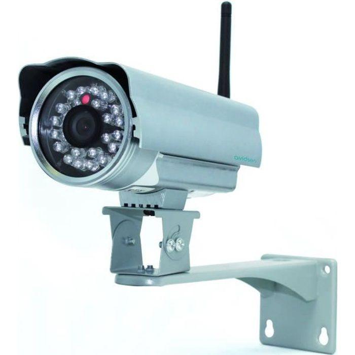AVIDSEN Caméra de surveillance IP extérieure WIFI - Connecté