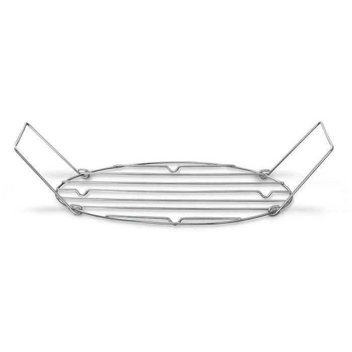 BEKA Grille pour Roasty Cook - Ø 34-38 cm - Gris